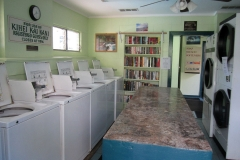 Full Laundromat next to the office
