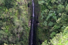 Waterfall on the road to Hana