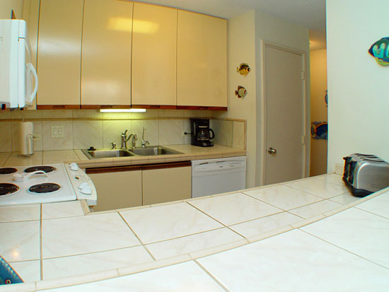 Upgraded kitchen, filtered drinking water, tiled filoor, counter top, backsplash, and new appliances