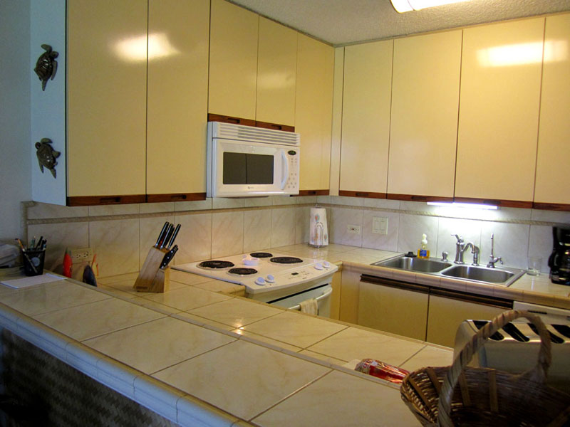 Upgraded kitchen with filtered drinking water