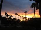 Beautiful Hawaiian sunsets seen from the condo and lanai