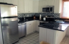 Remodeled kitchen includes all new appliances