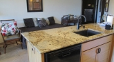 Granite counter tops, new cabinets, sink and faucet