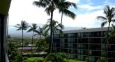 Lanai view to Mt Haleakala!