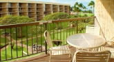 Our lanai view of inner court area