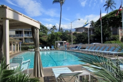 A Large 30 x 60 Kihei Kai Nani Pool and view to Mt Haleakala