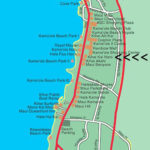 Map of So. Kihei showing our resort location