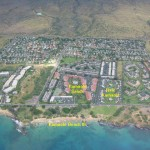 Aerial View of our resorts and Kamaole beaches