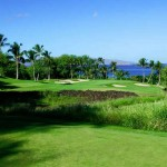 Wailea Golf Course and beautiful ocean view